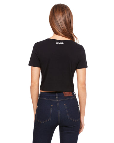3d Cropped Tee's - Black