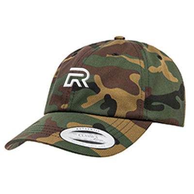 R Logo Dad Hat - Camo