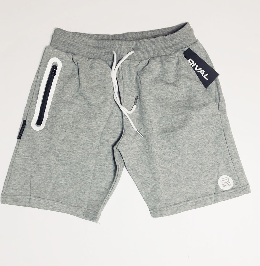 Rival Performance Shorts - Heather Grey - Only 1-XXL left!
