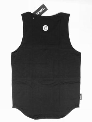 Rival Tank - Black - Only Small and XXL Left!