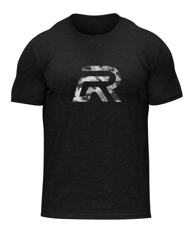 Rival Logo Grey Camo | Fitness & Lifestyle  Clothing | RIVAL