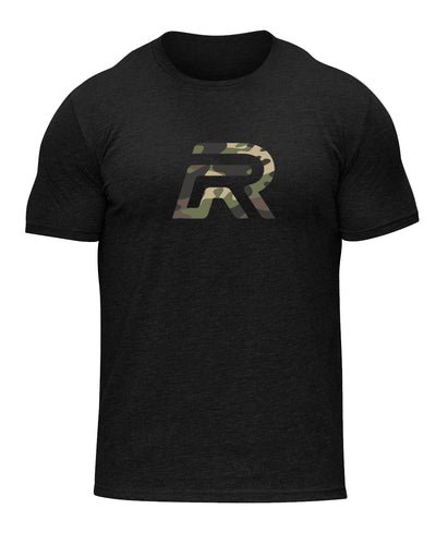 Rival Logo Shirt in Camo | Fitness & Lifestyle Clothing | RIVAL