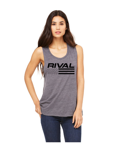Patriot Women's Muscle Tank | Fitness & Lifestyle Clothing | RIVAL