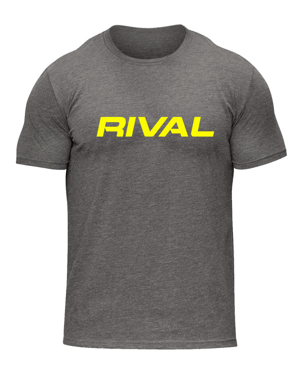 Rival Signature Tee - Grey/Yellow