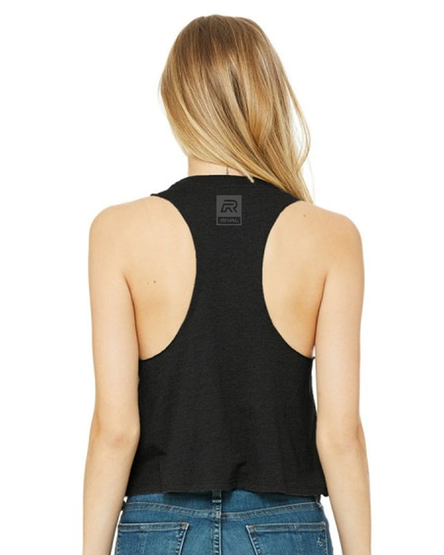 Drip R3D - Cropped Muscle Racerback Tank
