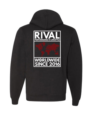 R3D Worldwide Rival Hoodie | Fitness & Lifestyle Clothing | RIVAL