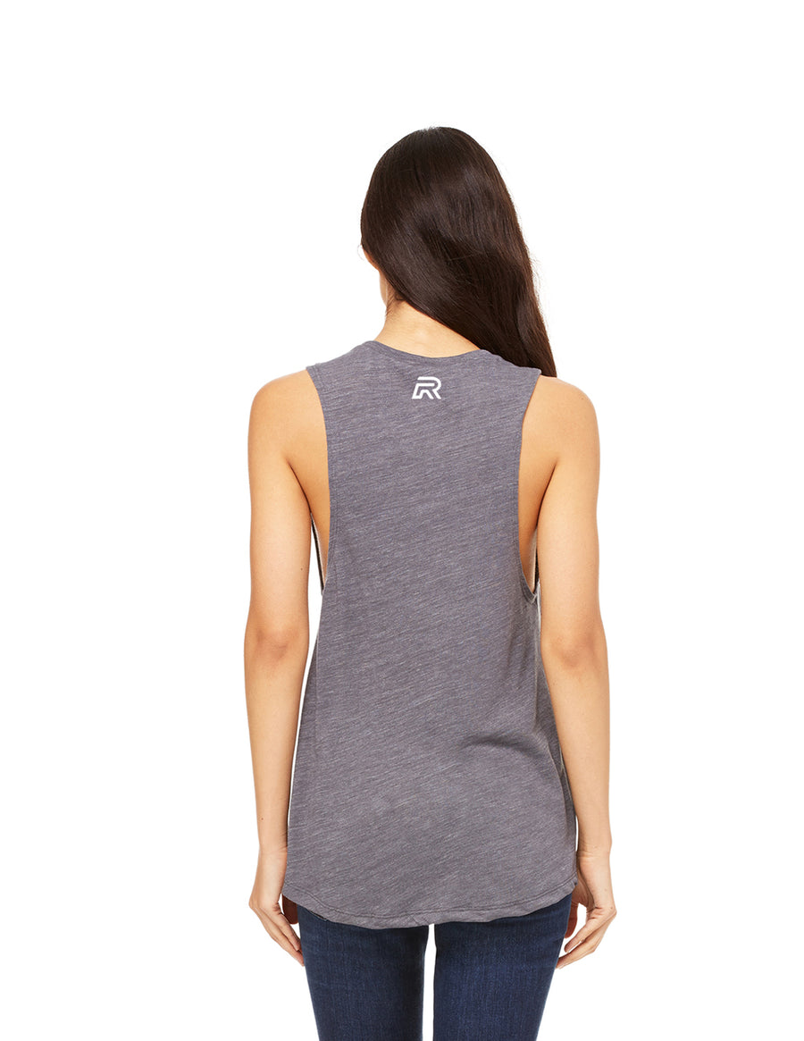 No Days Off - Ladies Muscle Tank