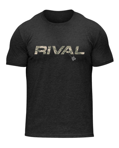 Rival Logo Camo Shirt | Fitness & Lifestyle Clothing | RIVAL