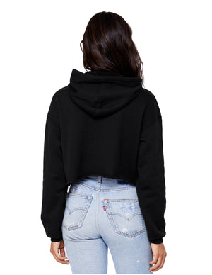 BLVCK - Ladies Signature Cropped Hoodie