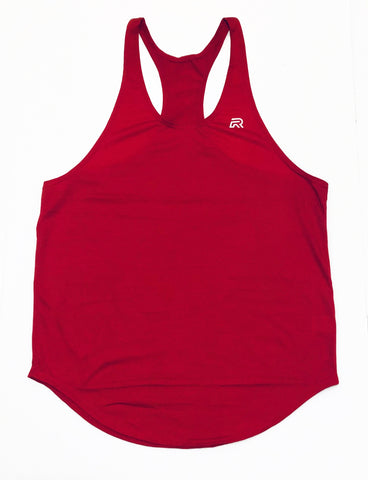 *Rival Stringer Tank Top - Red