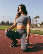 Rival Sport Seamless Leggings - Grey