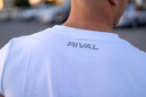 Rival Logo Muscle Tank | Fitness & Lifestyle Clothing | RIVAL