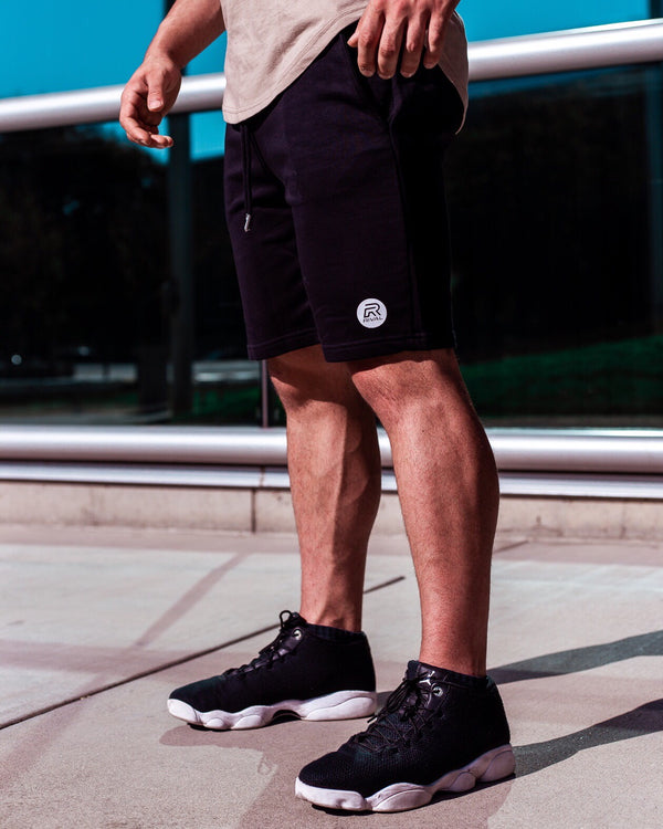 Rival Performance Shorts - Black with White logos