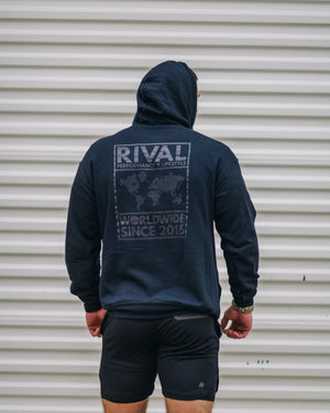 *NEW BLVCK Unisex - Worldwide Rival Hoodie