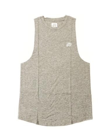 *New Rival RAW CUT Muscle Tanks - Grey