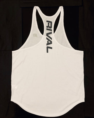 Stringer Tank - White
