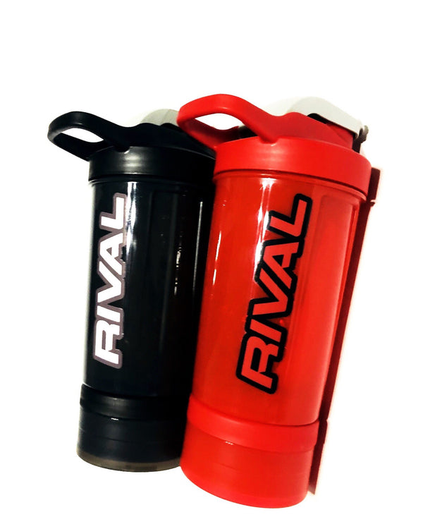 Rival Shaker Bottle 16oz with Mixer