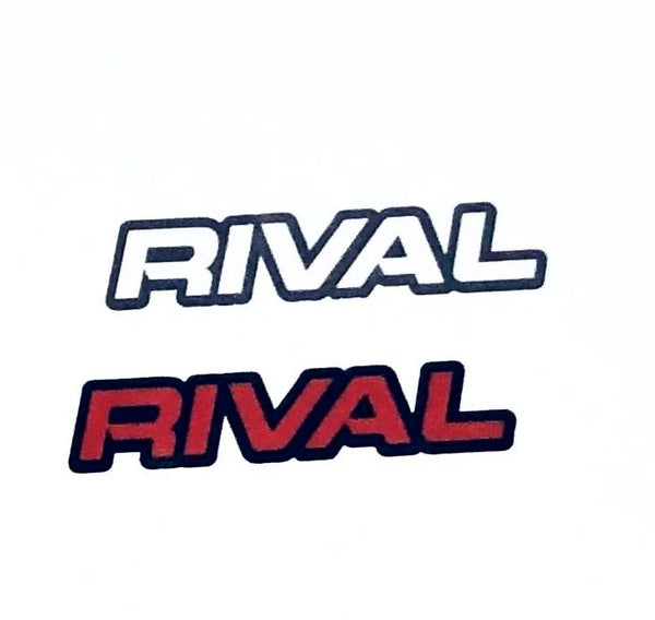 New RIVAL Vinyl Stickers (Set)