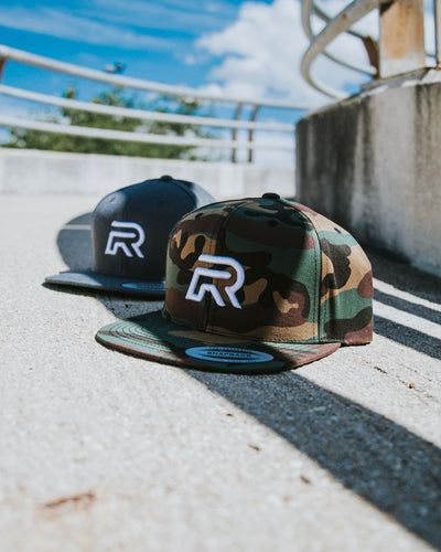 Rival Men's Camo Snapback | Fitness & Performance Clothing | RIVAL