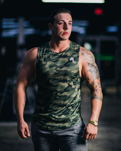 Rival Performance Muscle Tank - Camo (Large and XXL left)
