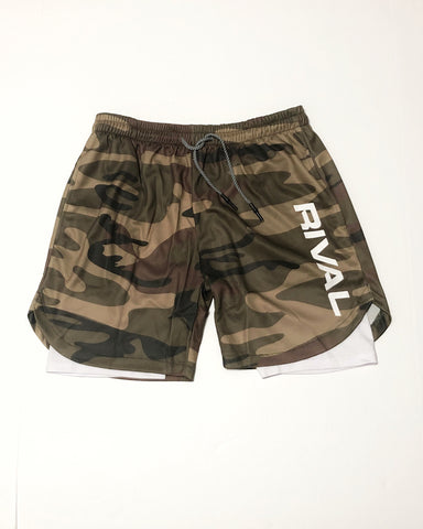 Rival Tactical Shorts - Camo