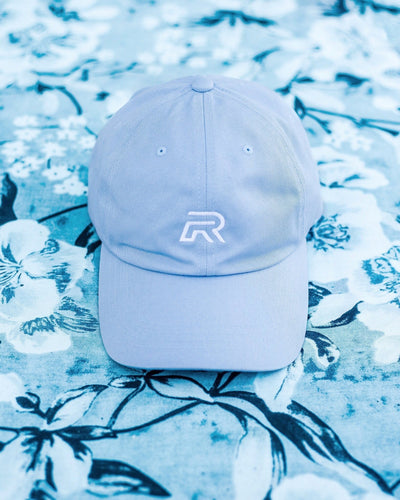R Logo Dad Hat - Baby Blue