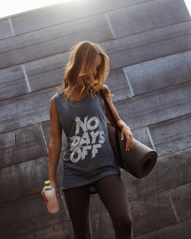 No Days Off Women's Muscle Tank | Fitness & Lifestyle Clothing | RIVAL