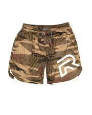 Tactical Shorts - Military Green Camo