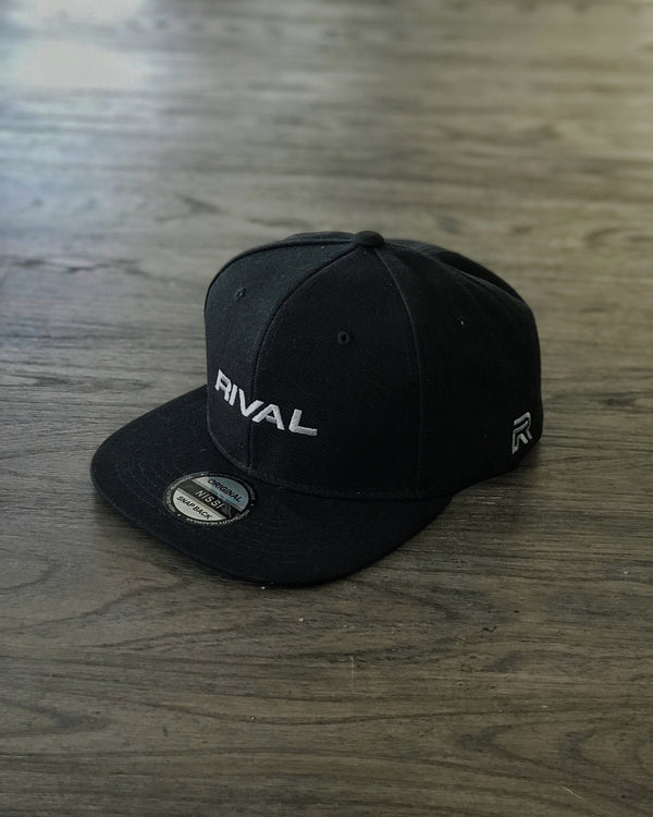 BLVCK Snapback w/Grey logo and BLVCK Underbill - Last one!