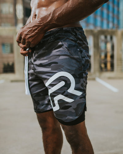 Tactical Shorts - Grey Camo