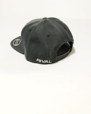 Men's Charcoal Snapback | Fitness & Performance Clothing | RIVAL