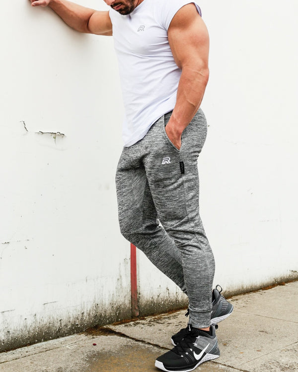 Rival Fitted Joggers - Charcoal
