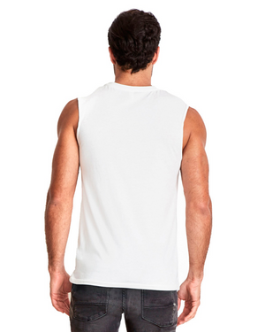 Signature - White Muscle Tank