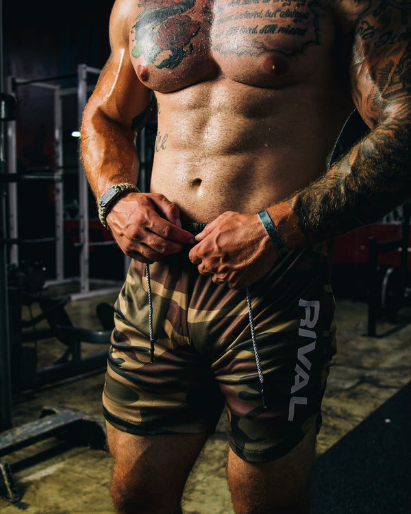Camo Tactical Shorts