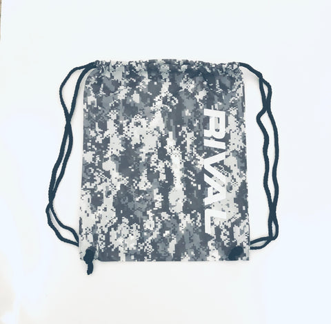 Rival Drawstring Bag - Digi Camo / Black
