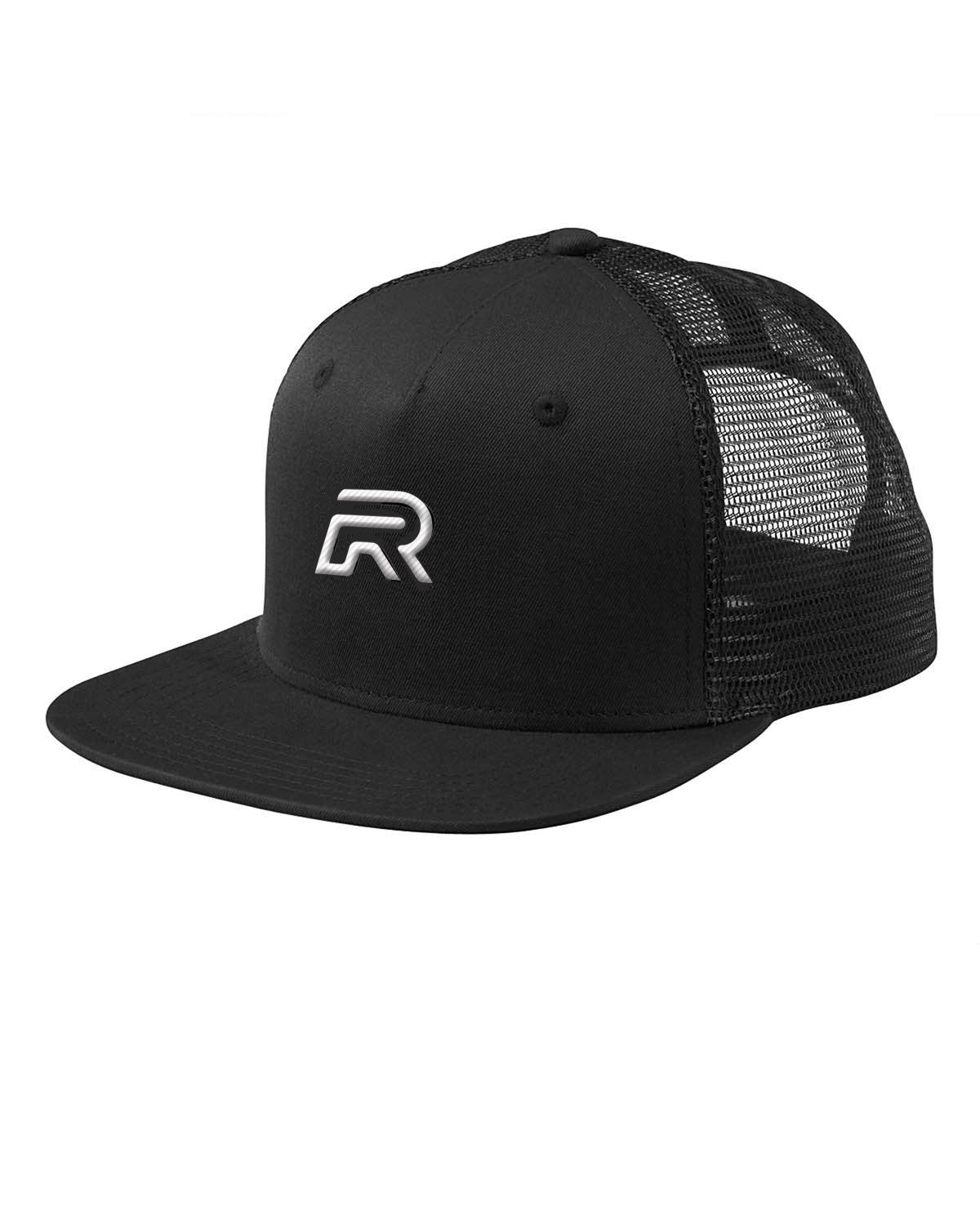 Black White Trucker Hat. The Rival Collection 2f21344cfc8f