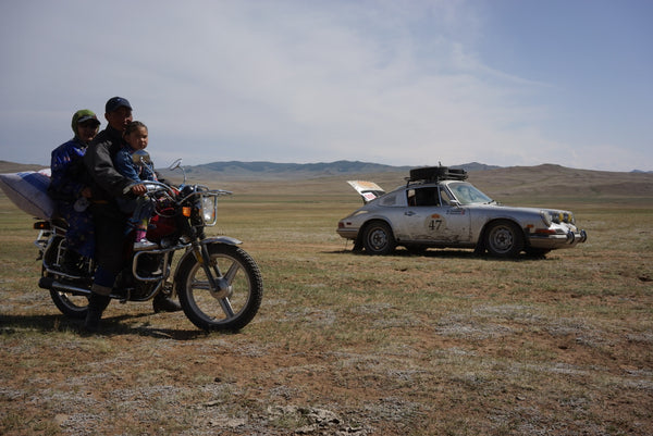 Peking to Paris 2019 Rally - in Mongolia