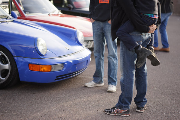 Porsches and Coffee at Fourtillfour every first Saturday of the month