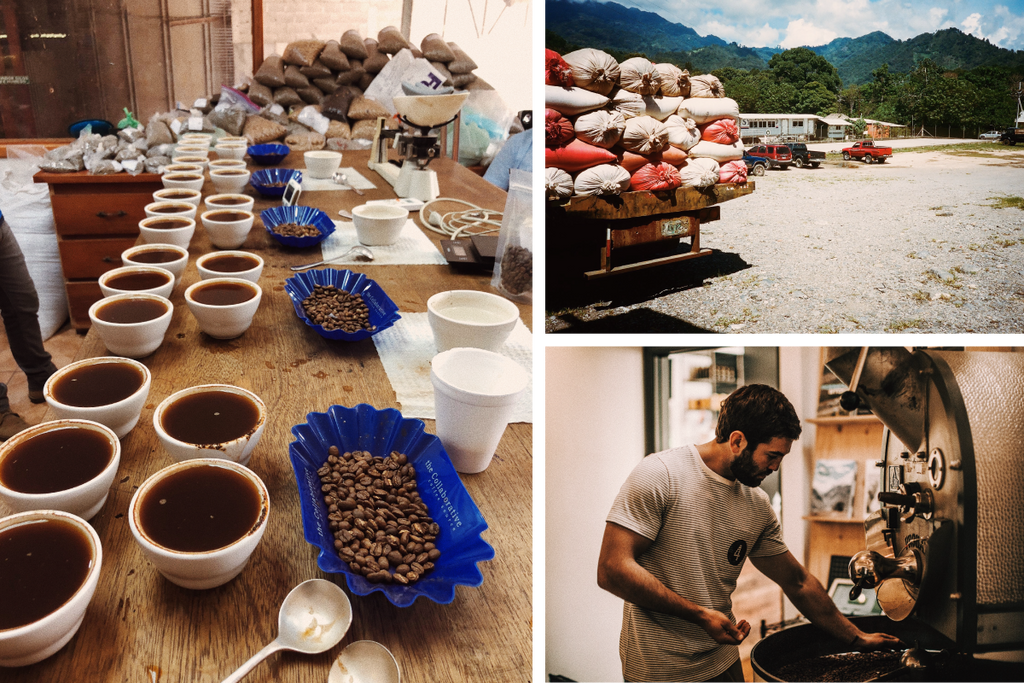 Four Coffee gets all of its beans from direct trade relationships