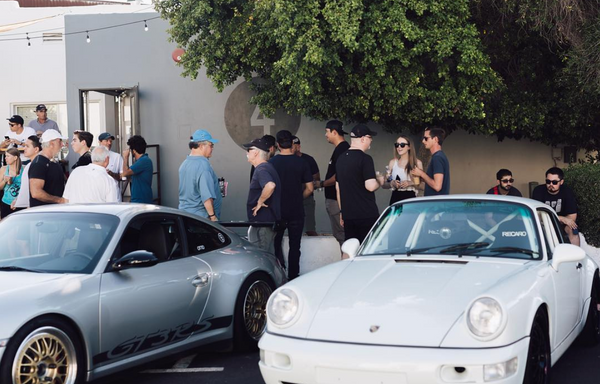 Porsches and Coffee at Fourtillfour every first Saturday of every month