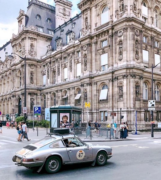 Fourtillfour makes it to Paris in the Peking to Paris 2019 Rally
