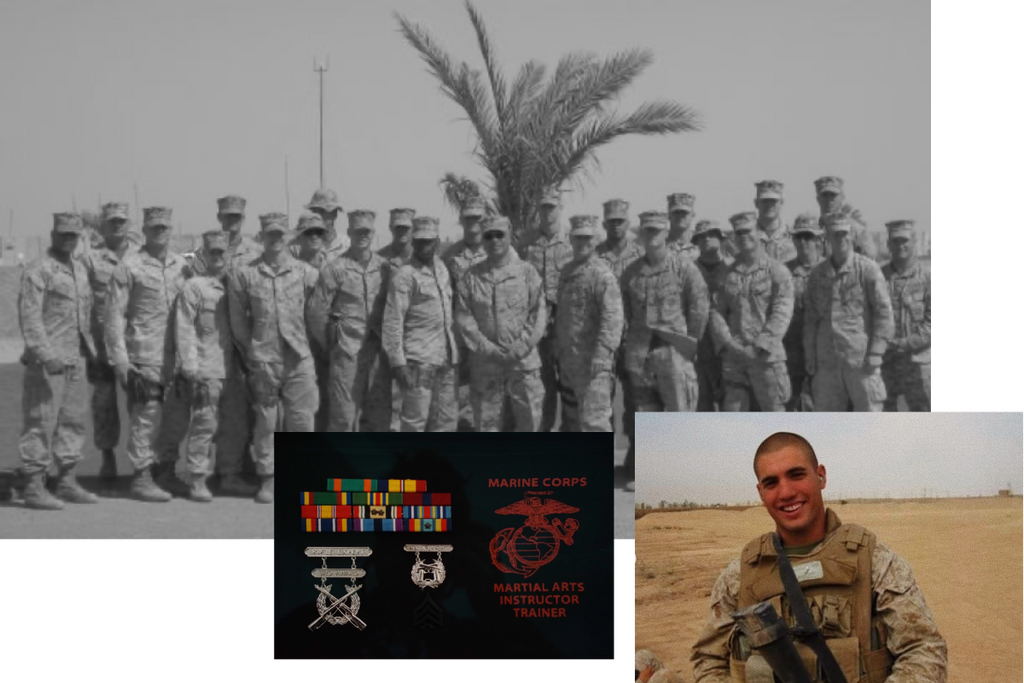 Owner and Founder Nico Samaras was in the USMC