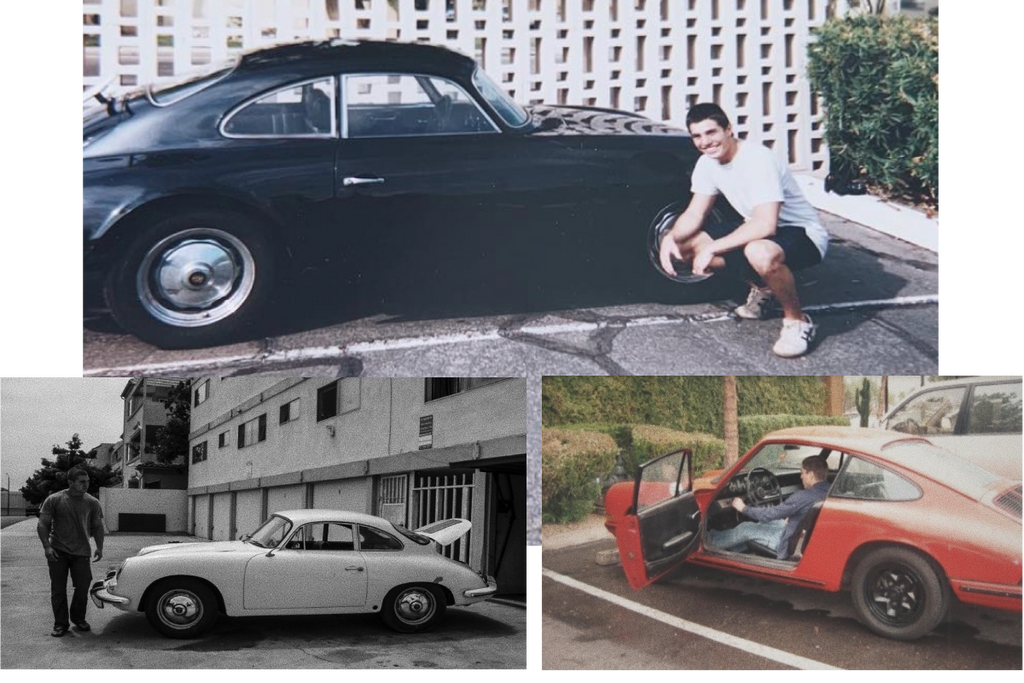 Nico Samaras owner and founder of Fourtillfour starting collecting and working on Porsches at an early age