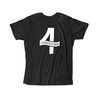 Black Four Shirt