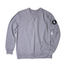 Black Patch Long Sleeve Crewneck