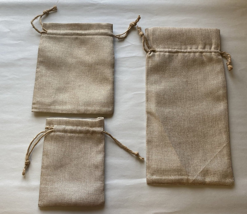 Sublimation Burlap Gift Bags with String (individual) - Inkfinitee Sublimation