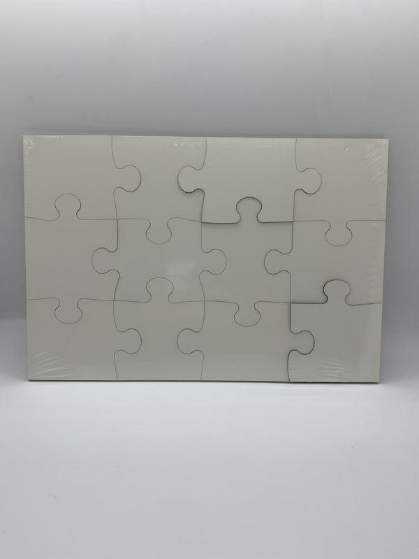 Sublimation Puzzle 12-piece Puzzle Set MDF - Inkfinitee Sublimation