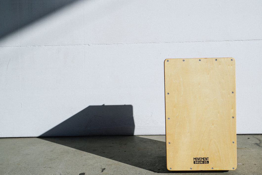 Movement Drum Co. - The Collapsible Cajon with Traveler Backpack - Movement Drum Co. -   - Movement Drum Co.