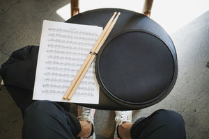 Movement Drum Co. - The Double Sided Practice Drum Pad, 4-in-1 Brush + Conditioning - Movement Drum Co. -   - Movement Drum Co.