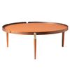 Image of Marvel Round Coffee Table<br>Artisan Collection